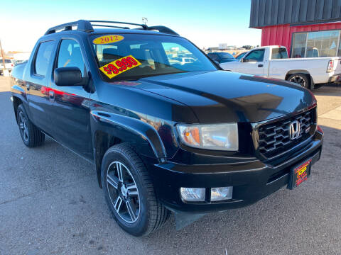 2012 Honda Ridgeline for sale at Top Line Auto Sales in Idaho Falls ID