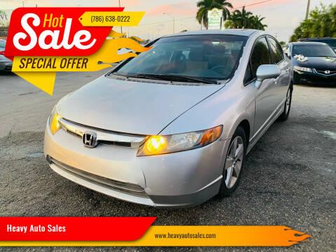 2007 Honda Civic for sale at Heavy Auto Sales in Miami FL