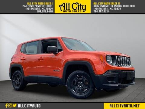 2016 Jeep Renegade for sale at All City Auto Sales II in Indian Trail NC