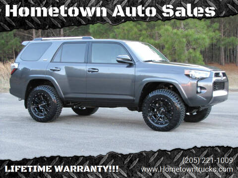 2019 Toyota 4Runner for sale at Hometown Auto Sales - SUVS in Jasper AL