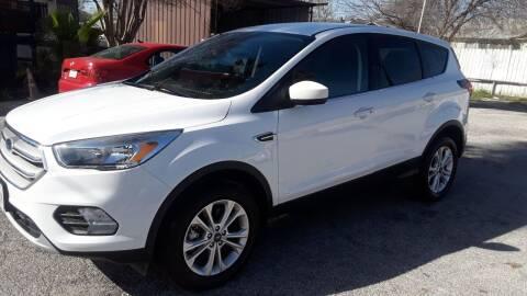2019 Ford Escape for sale at RICKY'S AUTOPLEX in San Antonio TX