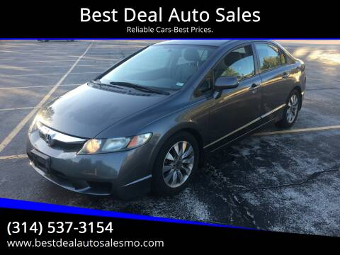 2009 Honda Civic for sale at Best Deal Auto Sales in Saint Charles MO