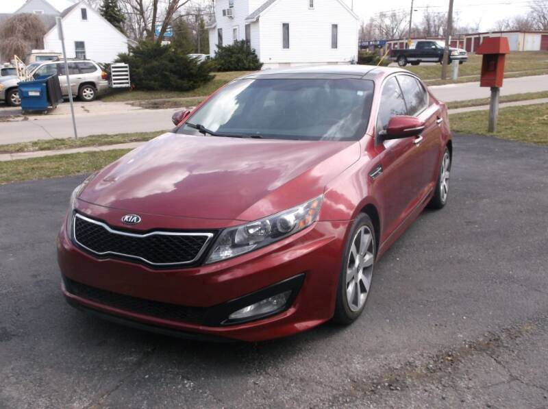 2013 Kia Optima for sale at Straight Line Motors LLC in Fort Wayne IN