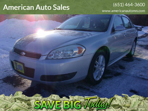2011 Chevrolet Impala for sale at American Auto Sales in Forest Lake MN