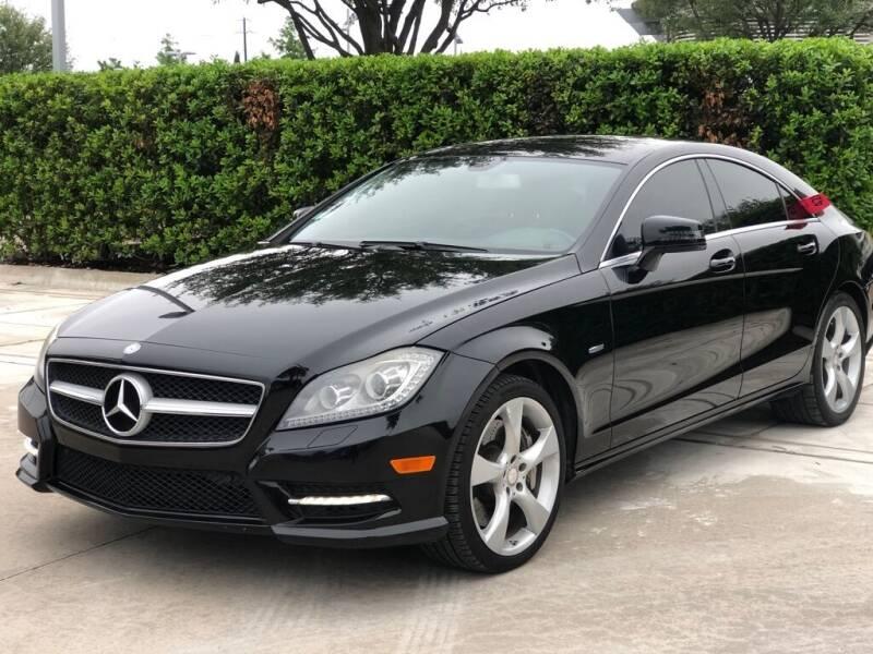 2012 Mercedes-Benz CLS for sale at Executive Auto Sales DFW LLC in Arlington TX