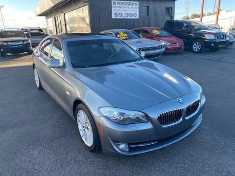 2012 BMW 5 Series for sale at JQ Motorsports East in Tucson AZ
