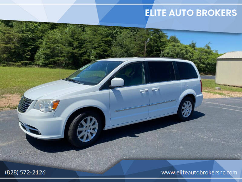 2014 Chrysler Town and Country for sale at Elite Auto Brokers in Lenoir NC