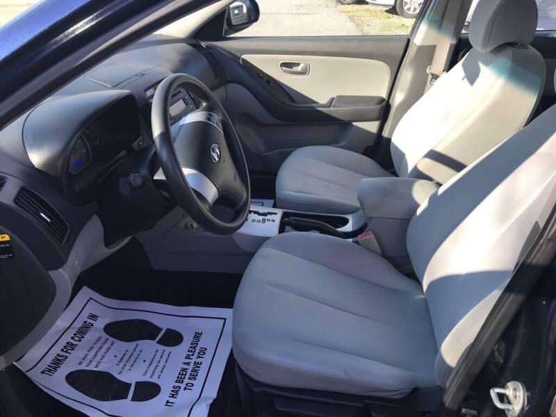 2009 Hyundai Elantra for sale at Ridetime Auto in Suffolk VA