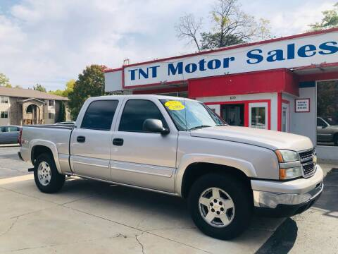 2006 Chevrolet Silverado 1500 for sale at TNT Motor Sales in Oregon IL