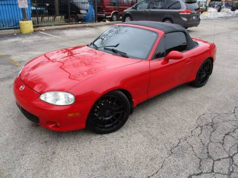 2003 Mazda MX-5 Miata for sale at 5 Stars Auto Service and Sales in Chicago IL