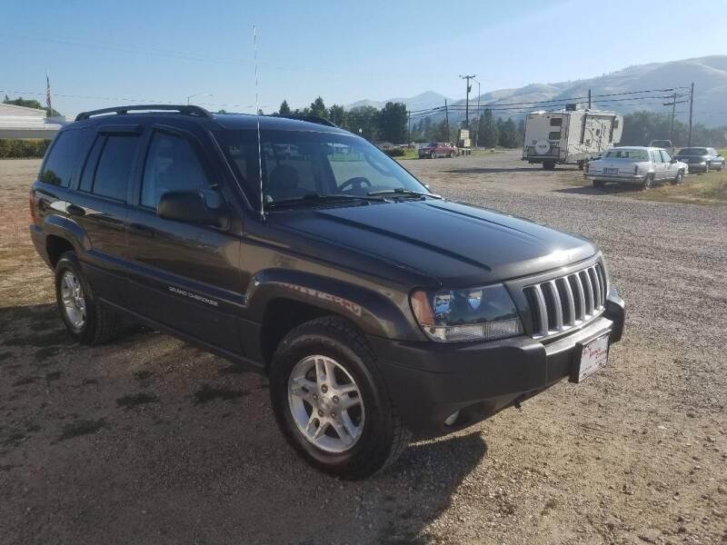 2004 Jeep Grand Cherokee for sale at AUTO BROKER CENTER in Lolo MT