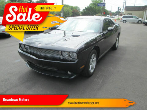 2010 Dodge Challenger for sale at Downtown Motors in Macon GA