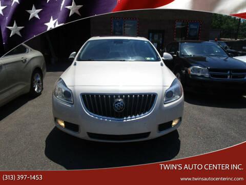 2012 Buick Regal for sale at Twin's Auto Center Inc. in Detroit MI