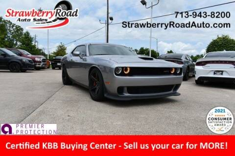 2018 Dodge Challenger for sale at Strawberry Road Auto Sales in Pasadena TX