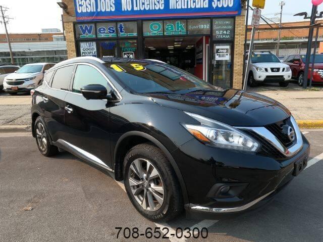 2015 Nissan Murano for sale at West Oak in Chicago IL