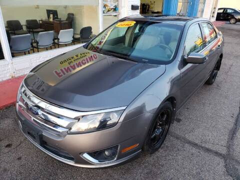 2010 Ford Fusion for sale at AutoMotion Sales in Franklin OH