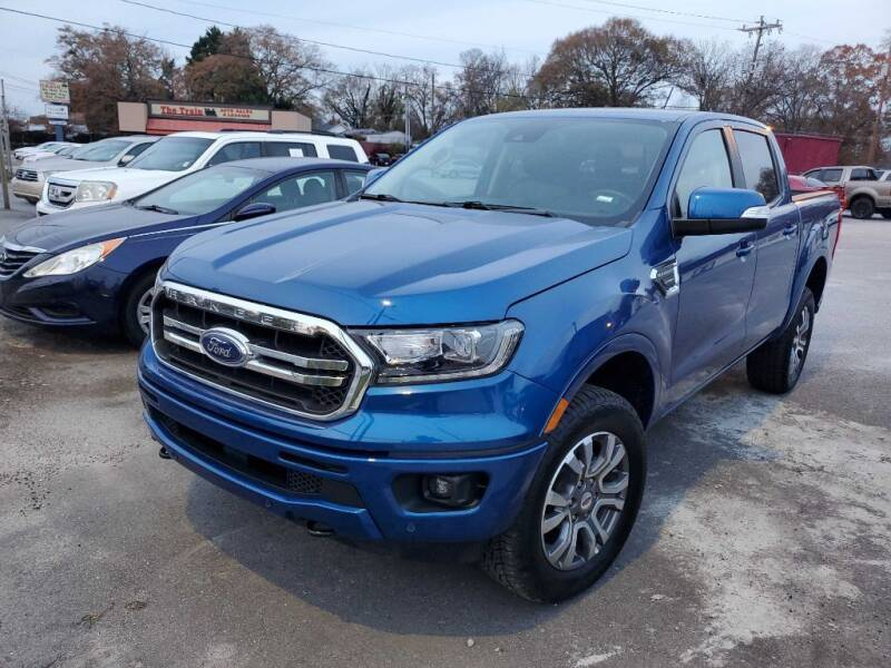 2020 Ford Ranger for sale at THE TRAIN AUTO SALES & LEASING in Mauldin SC
