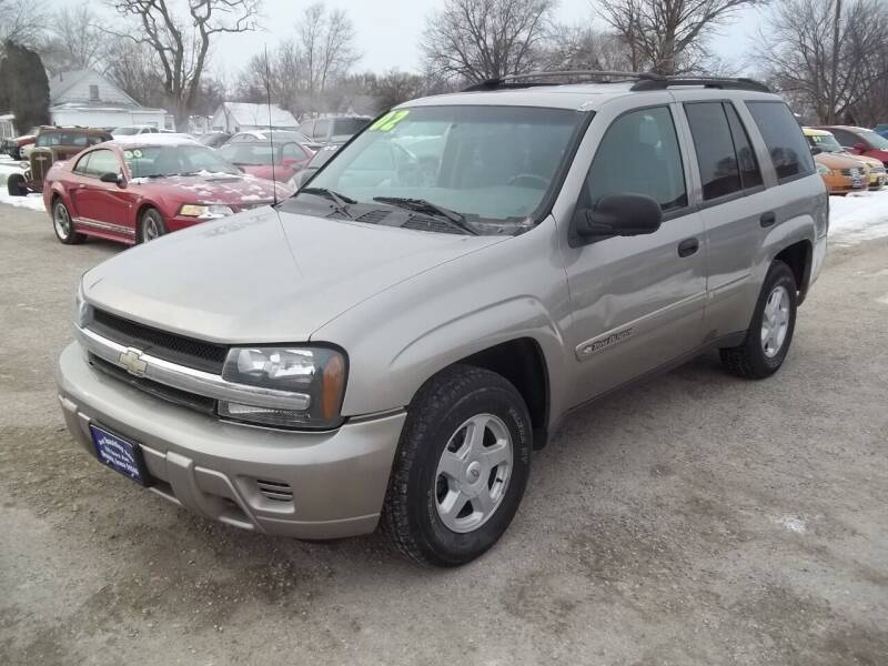 2002 Chevrolet TrailBlazer for sale at BRETT SPAULDING SALES in Onawa IA