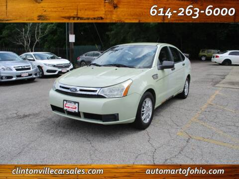 2010 Ford Focus for sale at Clintonville Car Sales - AutoMart of Ohio in Columbus OH
