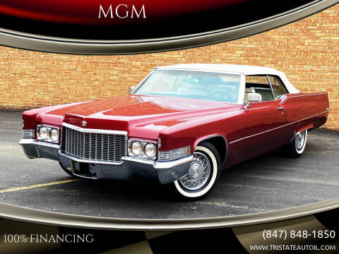 1970 Cadillac DeVille for sale at MGM CLASSIC CARS in Addison IL