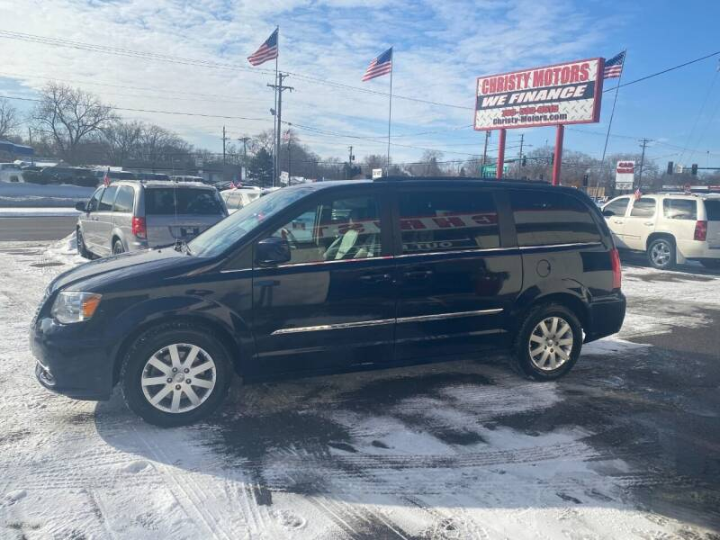 2016 Chrysler Town and Country for sale at Christy Motors in Crystal MN