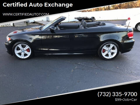 2009 BMW 1 Series for sale at Certified Auto Exchange in Keyport NJ