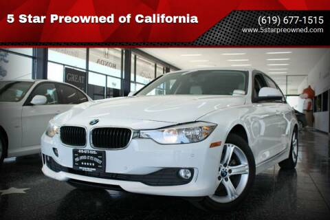 2014 BMW 3 Series for sale at 5 Star Preowned of California in Chula Vista CA
