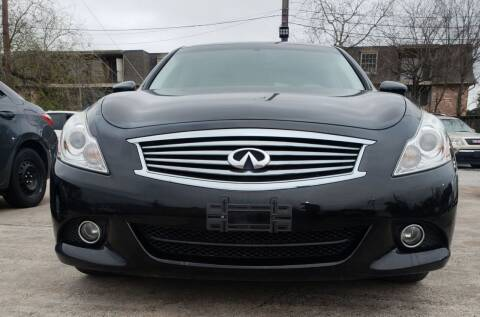 2015 Infiniti Q40 for sale at Infinite Autos in Houston TX