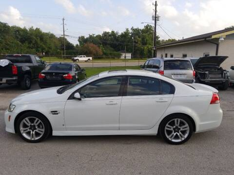 2008 Pontiac G8 for sale at Discount Auto Mart LLC in Houston TX