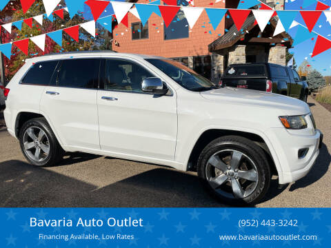 2014 Jeep Grand Cherokee for sale at Bavaria Auto Outlet in Victoria MN