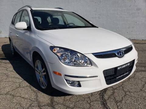 2012 Hyundai Elantra Touring for sale at CALIBER AUTO SALES LLC in Cleveland OH