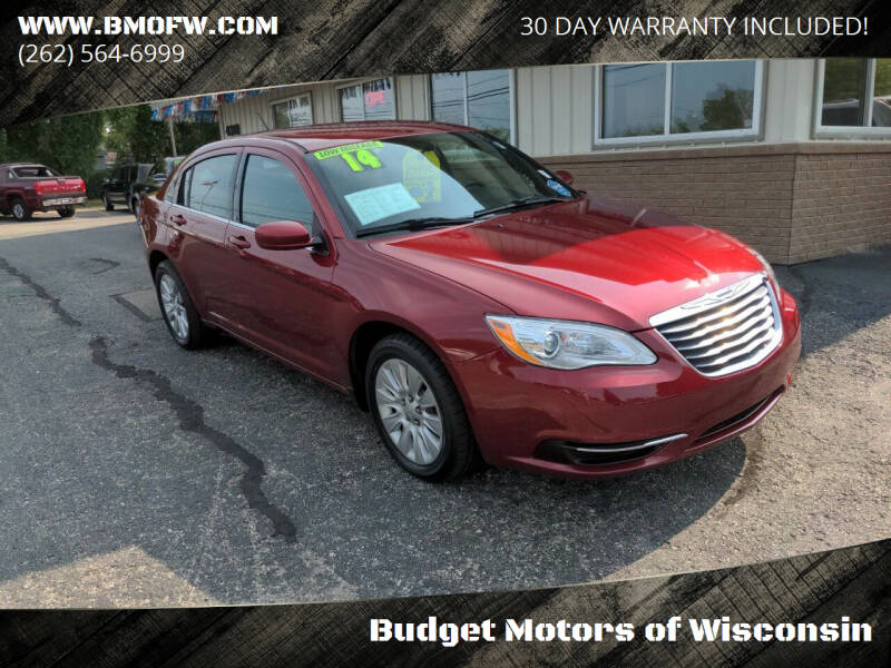 2014 Chrysler 200 for sale at Budget Motors of Wisconsin in Racine WI