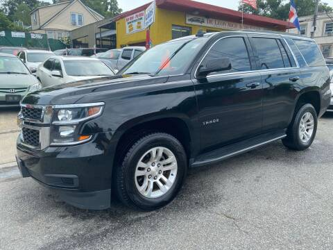 2017 Chevrolet Tahoe for sale at White River Auto Sales in New Rochelle NY