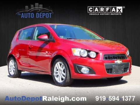 2012 Chevrolet Sonic for sale at The Auto Depot in Raleigh NC