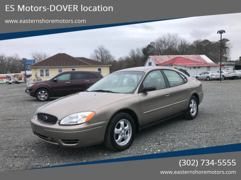 2007 Ford Taurus for sale at ES Motors-DAGSBORO location - Dover in Dover DE