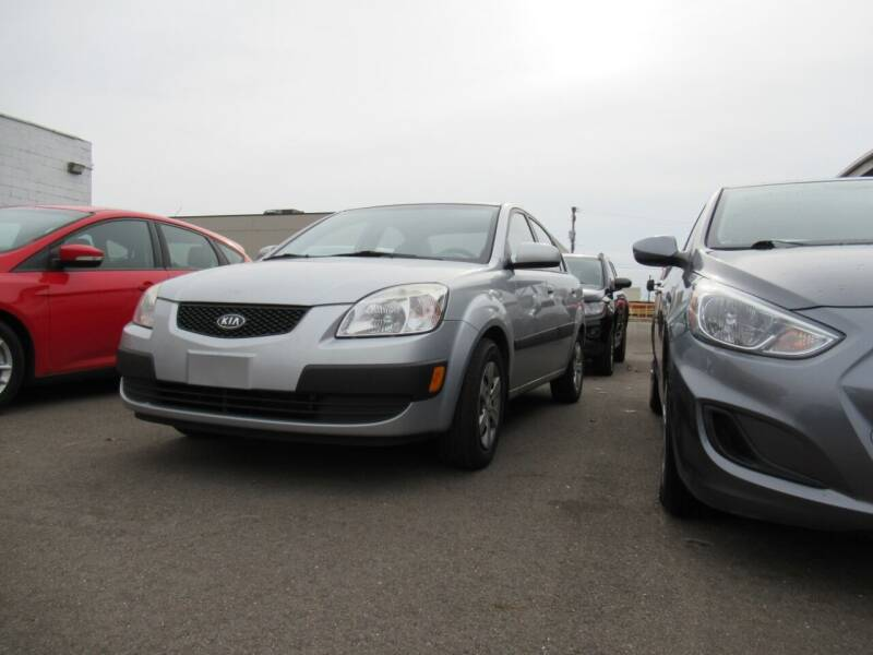 2009 Kia Rio for sale at Major Auto Sales LLC in Madison Heights MI