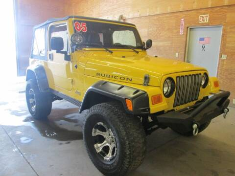 2005 Jeep Wrangler for sale at Small Town Auto Sales in Hazleton PA
