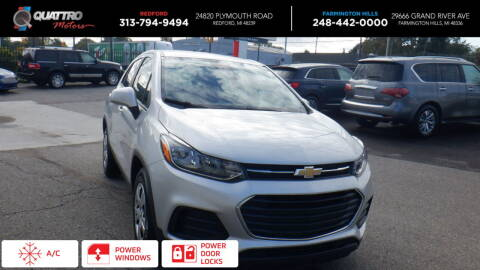 2017 Chevrolet Trax for sale at Quattro Motors 2 - 1 in Redford MI