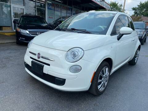2012 FIAT 500 for sale at TOP YIN MOTORS in Mount Prospect IL