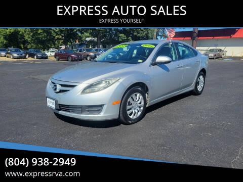 2011 Mazda MAZDA6 for sale at EXPRESS AUTO SALES in Midlothian VA