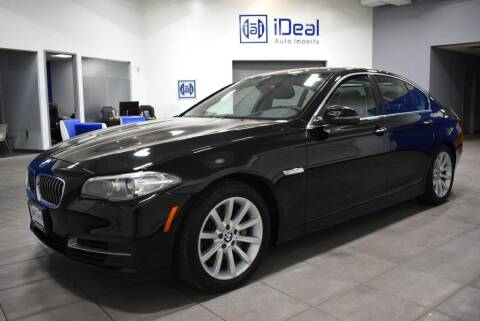 2014 BMW 5 Series for sale at iDeal Auto Imports in Eden Prairie MN