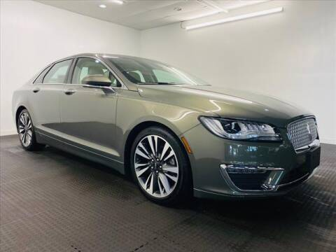 2017 Lincoln MKZ for sale at Champagne Motor Car Company in Willimantic CT