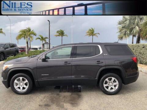 2018 GMC Acadia for sale at Niles Sales and Service in Key West FL