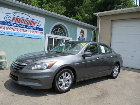 2012 Honda Accord for sale at Precision Automotive Group in Youngstown OH