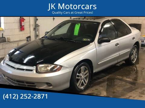 2004 Chevrolet Cavalier for sale at JK Motor Cars in Pittsburgh PA