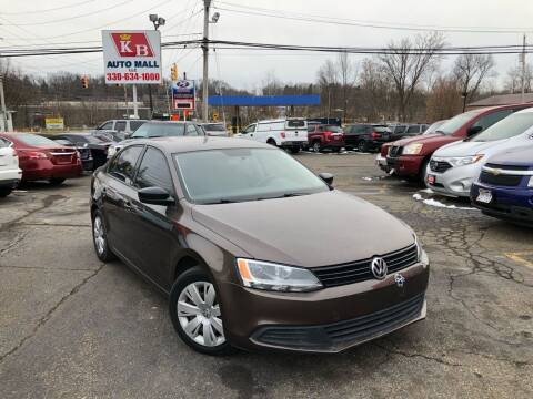 2011 Volkswagen Jetta for sale at KB Auto Mall LLC in Akron OH