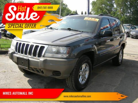 2004 Jeep Grand Cherokee for sale at MIKES AUTOMALL INC in Ingleside IL