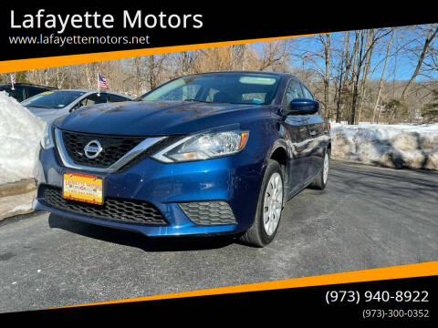 2016 Nissan Sentra for sale at Lafayette Motors 2 in Andover NJ