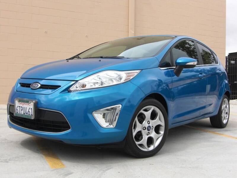 2012 Ford Fiesta for sale at J'S MOTORS in San Diego CA