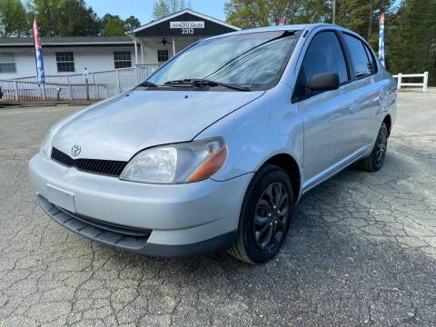 2002 Toyota ECHO for sale at CVC AUTO SALES in Durham NC